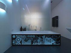 Illuminated Bathtub