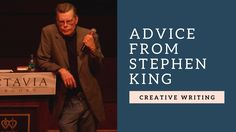 Creative writing lessons: Creative Writing tips, advice and lessons from bestseller Stephen King Writing Lessons, Writing Advice, Writing Services, Essay Writing, Writing Poetry, Blog Writing, Science Fiction, Creative Writing Tips, Stephen King