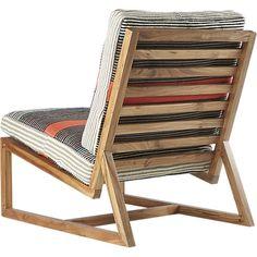 sidi lounge chair with cushions | CB2