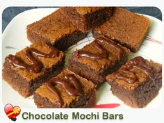 Chocolate Mochi Bars - ILoveHawaiianFoodRecipes