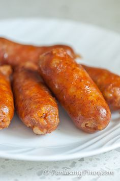 This longanisa recipe s the perfect breakfast food. Learn how to make your homemade Filipino sausage through this recipe post. Filipino Dishes, Filipino Recipes, Asian Recipes, Filipino Food, Homemade Sausage Recipes, Pork Recipes, Cooking Recipes, Filipino Longanisa Recipe, Charcuterie