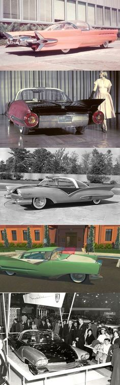 Pinned by http://FlanaganMotors.com.  1955 Ford Mystere Concept Car