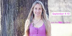 7 days to a more intuitive you FREE course