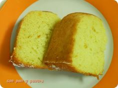 Con pan y postre: Bizcocho de claras y naranja
