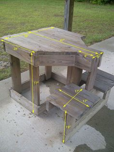 Free Shooting Bench Plans | Free Bench Plans. #shooting #bench #range
