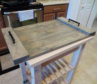 DIY Ottoman Tray for $27                                                                                                                                                                                 More