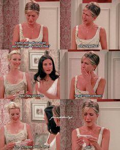 That's a trick little game! Tv: Friends, Friends Moments, Friends Series, Friends Tv Show, Friends Forever, Friend Jokes, Perfect Movie, Romantic Scenes, Rachel Green