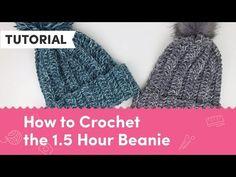 LoveCrochet Blog » The Fastest Beanie – Free Tutorial!
