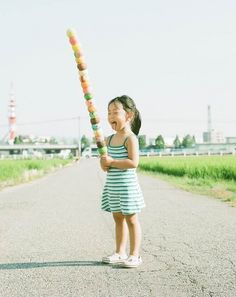 """Japanese photographer and dad Nagano Toyokazu has created a funny photo series of his daughter titled """"Photogenic Princess"""" [via 123 Inspiration]"""