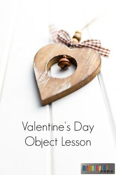 Valentine's Day Object Lesson