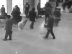 Hoax social media news footage - CCTV purporting to show the deadly Brussels Airport explosions appears to be fake.    The footage resembles avideo of the moment a bomb attack took place at Domodedovo Airport in Russia in 2011.    But the clip, which shows people walking before they duck and fleefollowing an explosion, has been widely shared on social media since the Brussels blasts took place on Tuesday morning.