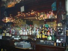 Nelson's Hall - Washington Island. Oldest continuous operating bar in America. Join the Bitters Club! - I'm a member!