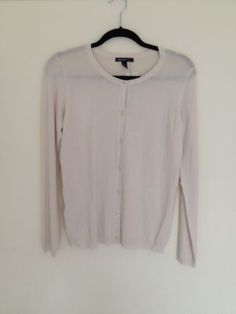 Womens Ivory Cream Cardigan Size M From Mango New With Tags