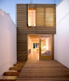 Terraced family house, Sant Feliu de Llobregat, Spain by dataAE