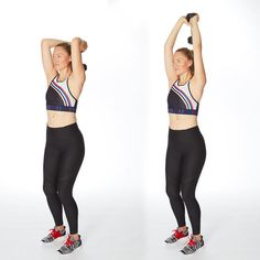 Wondering how to get skinny arms—that are strong, too? Sculpt buff biceps, triceps, and shoulders with this quick arms workout for women. You just need five minutes and a set of lightweight dumbbells to do these arm exercises 5 Minute Arm Workout, Dumbbell Arm Workout, Abs Workout Video, Dumbbell Set, Gym Video, Abs Workout Routines, Waist Workout, Boxing Workout, Workout Gear