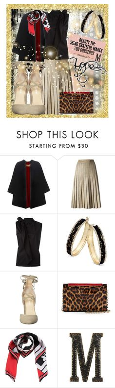 """""""Love"""" by summer-marin ❤ liked on Polyvore featuring Burberry, CÉLINE, MM6 Maison Margiela, Thalia Sodi, Ivanka Trump, Christian Louboutin, Givenchy and Urban Trends Collection"""