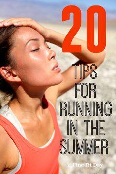 Tips for Hot Weather Running - Don't give up on running when the weather turns hot and summer kicks in! These tips and tricks will have you staying cool all summer long. Hot weather hacks for training, racing and running for fun and fitness. Whether you're a beginner runner, or a pro, check out these running tips for the heat.  running   running tips 