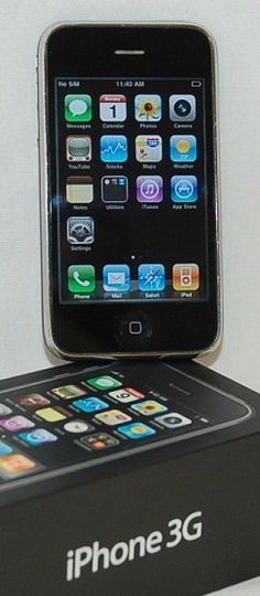 NEW Apple iPhone 3G  8GB  Black Unlocked Smartphone by wesrvices, $135.00