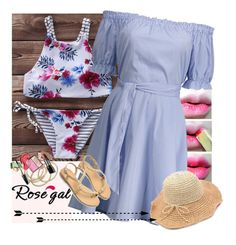 ROSEGAL by missz on Polyvore featuring mode and ABS by Allen Schwartz