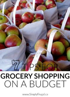 Don't miss our top 7 Tips For Grocery Shopping On A Budget.  Practical advice that gives you amazing meals while staying within your budget with ease.