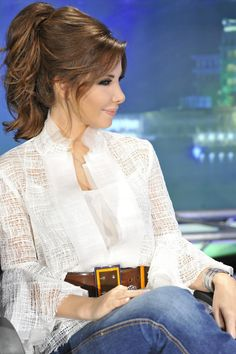 Nancy Ajram and her hair!!