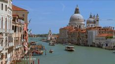 Venice, Italy: Grand Canal and La Salute Church