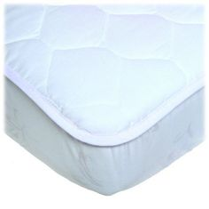 Waterproof Snug Fitted Quilted Crib White Pad Mattress Cover Baby/Toddler Bed  #Carters