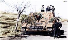 Sturmpanzer IV 'Brummbär' - Sturmpanzer-Abteilung 216 - enroute to Anzio/Nettuno - Feb.'44
