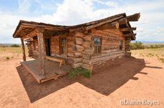 Cabin at Ghost Ranch in Abiquiu, New Mexico www.eccentricnomads.com