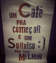 1 café e 1 sorriso . Sabe AQUELA quinta que começa MEGA cedo?  . Hoje tem agenda cheia de compromissos e coisas encavaladas. Vamos ver qual será o saldo no final do dia. . Bom dia!!!! Não esquece do café e do sorriso que tudo fica melhor!! . #bomdia #goodmorning #quotes #frases #café #espresso #coffeetime #coffee #coffeelover