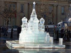 Conozca la Galería de Escultura de Hielo de Rusia