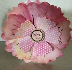 Dawn Bibby Floral Fantasy Card Crafts, Paper Flowers, Dawn, Craft Projects, Sapphire, Fantasy, Floral, Cards, Design