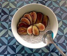 #chiapudding #fiber #lowcarb #preworkoutmeal #figs #cinnamon #almondmilk #natural #homemade #healthy #fit #perfection #balance #protein