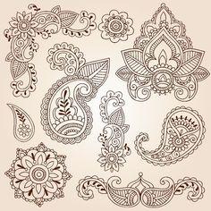 "Indian ornaments / Индийский орнамент, или Не ""огурцами"" одними - Ярмарка Мастеров - ручная работа, handmade"