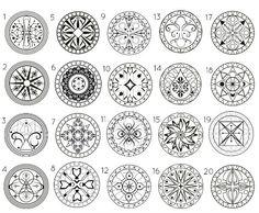 Выберите свою мандалу, всмотритесь в нее - и все изменится! Мандала - это магический рисунок, который буддисты используют для нейтрализации проблем в своем сознании. Если вас мучит какая-то навязчивая...