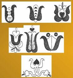 tulipan 2 (2) Hungary, Mandala, Arts And Crafts, Calligraphy, Culture, Character, Inspiration, Patterns, Google