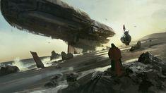 concept ships: Spaceship concept art by Tuomas Korpi