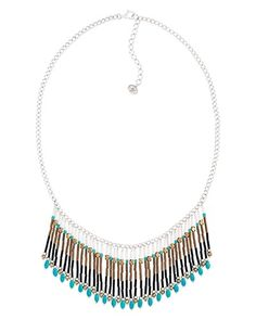 Free Spirit Fringe Necklace, Necklaces - Silpada Designs  For that Boho gal who loves the southwest vibe...