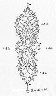 蝶々のモチーフ(編み図付き) : Crochet a little
