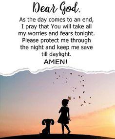 I Pray, Dear God, Words Of Encouragement, No Worries, Amen, Night, Day, Movie Posters, Encouragement Words