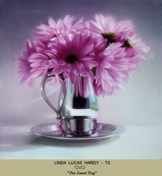 """Sunday is """"One Sweet Day"""" to see this gracefully painted artwork by Linda Lucas Hardy, new NOAPS Signature Artist Member from Texas. """"One Sweet Day"""" will grace the walls of the Addison Art Gallery at the opening of the Best of America Exhibit 2016 on September 3 A must see small 12x12 painting! http://noaps.org/html/bestofamerica.html"""