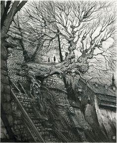 Ian Miller, Gormenghast Tree