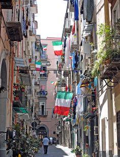 Vico Castellina, Naples, Italy