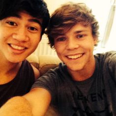 Calum and Ashton. they're such white girls omg
