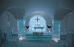 Ice Hotel Norvegia http://abitarelanatura.wordpress.com/2013/06/20/ice-hotel-norway/