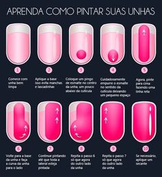 Doing Your Own Nails? Try These Simple Steps To Achieve Nail Salon Perfect Nails! Pedicure Colors, Manicure Y Pedicure, Manicure At Home, Nail Colors, Acrylic Nails, Gel Nails, Nail Polish, Nail Techniques, Nagel Hacks