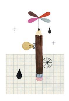 The Fine Art of Making Mistakes by | Valesca van Waveren Art + Illustration