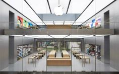 Barcelona Apple Store Architecture   ipad pro worker   Pinterest     Apple Store
