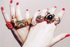 Funky Artificial Rings