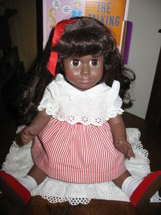 Talking Black AA Chatty Cathy Doll -2004-Never Played With-Never Displayed-ExCD
